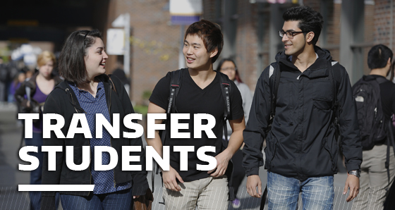 Marketing to Transfer Students