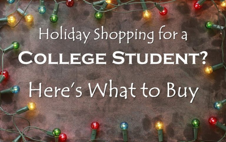 College Students Holiday Shopping