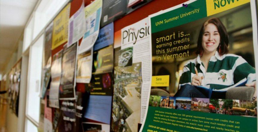 College Bulletin Board Poster
