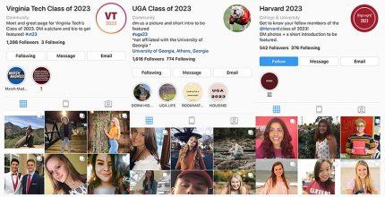 College Students Instagram