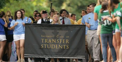 Graduate School and Transfer Admissions Marketing