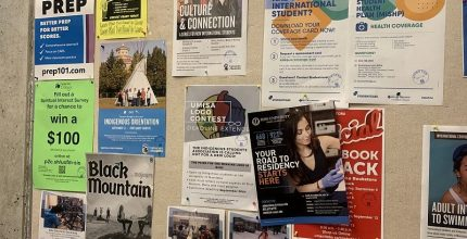 Campus Bulletin Boards